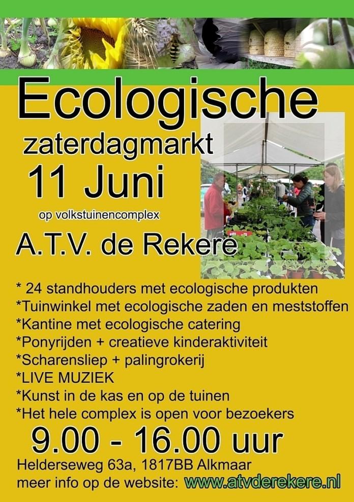 Ecologsiche tuinmarkt Alkmaar